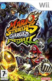 Boîte du jeu Mario Strikers Charged Football