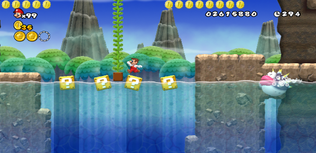 Test de new super mario bros wii par korhosik mario - Passage secret mario bros wii ...